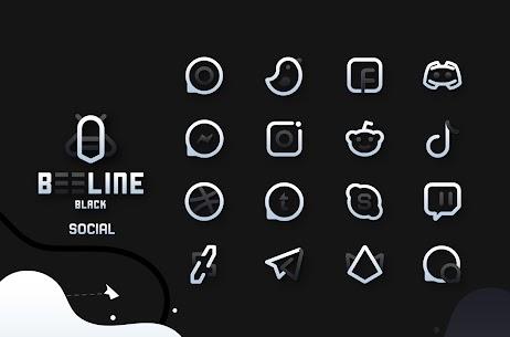BeeLine Black IconPack Apk Download [PAID] 4