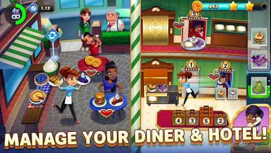 Diner DASH Adventures MOD APK (Unlimited Gems) 2