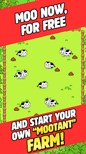 Cow Evolution - Crazy Cow Making Clicker Game Screenshot