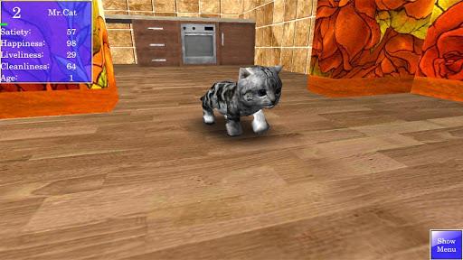 Cute Pocket Cat 3D 1.2.2.3 screenshots 4