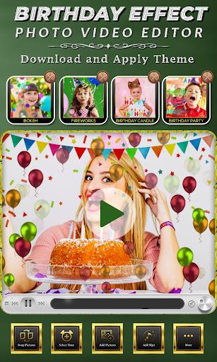 Birthday Photo Effect Video Maker with Song apktram screenshots 4