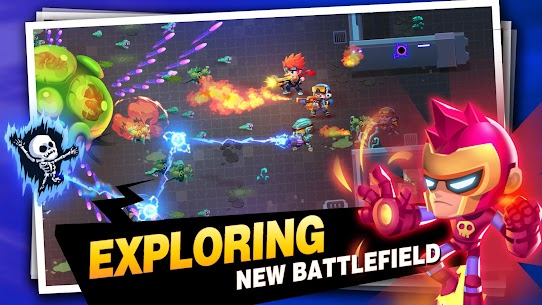 Bullet Brawl: Alien Battlelands Shootout MOD (Money/Bombs/Ammo) 3