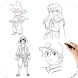 How To Drawing Anime Step by step - Androidアプリ