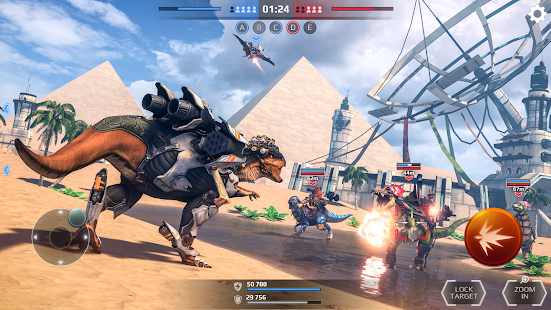 Jurassic Monster World: Dinosaur War 3D FPS Screenshot