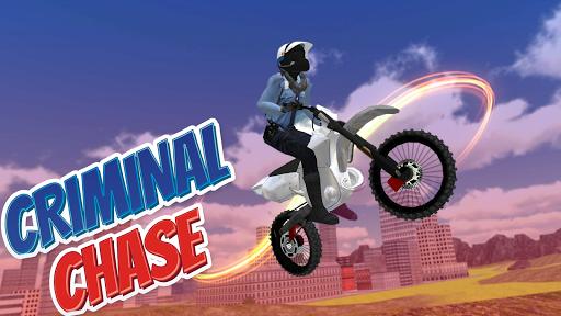 Police Bike Stunt Games : 3D Mega Ramp Stunts Game  screenshots 6