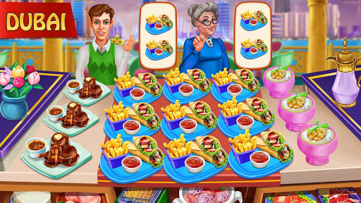 Cooking Day - Chef's Restaurant Food Cooking Game apkslow screenshots 7