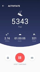 Pedometru – contor de pași și de calorii gratuit 3
