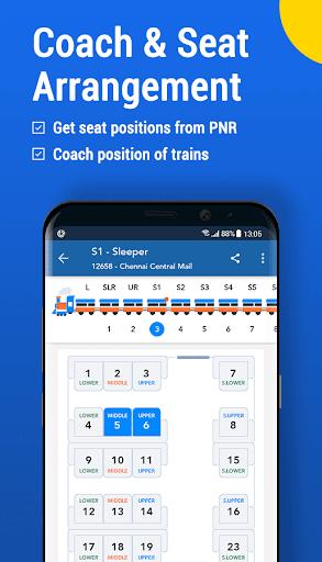 Where is my Train : Indian Railway Train Status  Screenshots 4
