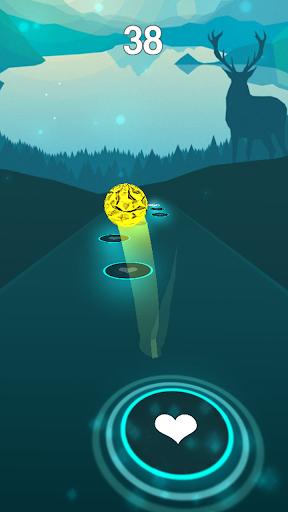 believer - imagine dragons rush tiles magic hop screenshot 1