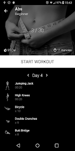 Six Pack in 30 Days. Abs Home Workout 1.13 (Pro)