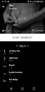 Six Pack in 30 Days. Abs Home Workout v1.12 (PRO) MOD APK 1