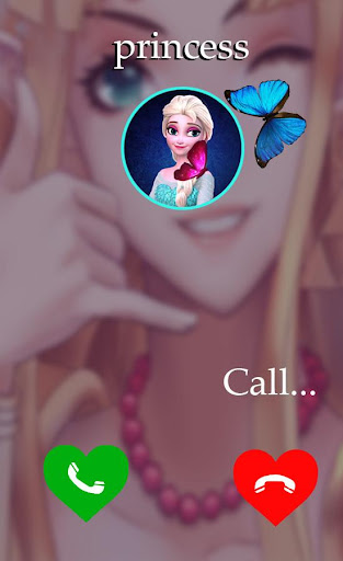 fake call princess prank Simulator 1.5 Screenshots 1