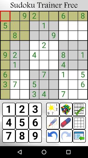 Sudoku Trainer Free  screenshots 1