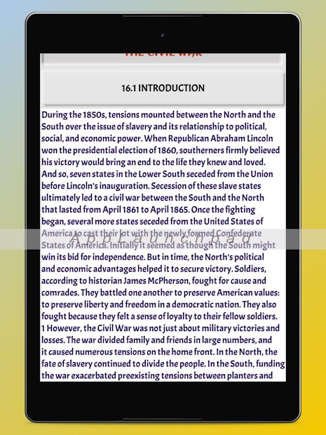 History Of United States: USA History screenshot 6