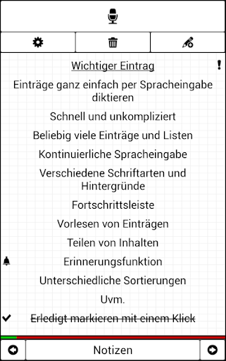 Notepad with voice recognition screenshots 1