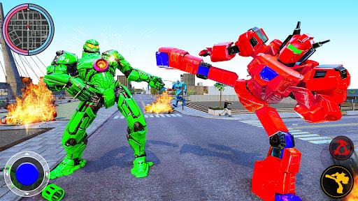 Air Robot Tornado Transforming - Robot Games apktreat screenshots 2