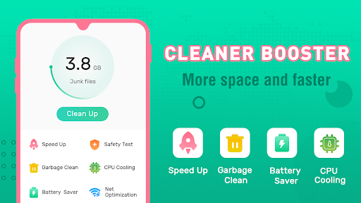 Clean Booster-Master of Cleaner, Phone Booster android2mod screenshots 1