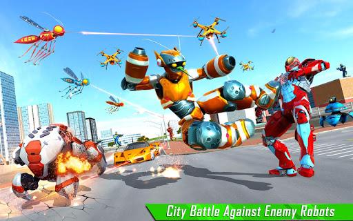 Mosquito Robot Car Game - Transforming Robot Games 1.0.8 screenshots 9