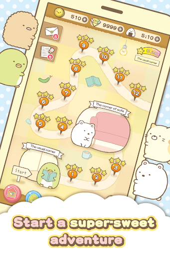 Sumikko gurashi-Puzzling Ways  screenshots 4