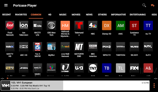 Portcase Player : Torrent & IPTV Screenshot