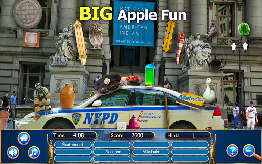 Hidden Objects New York City Puzzle Object Game  screenshots 4