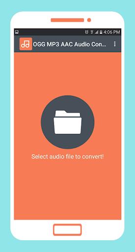 ogg mp3 aac audio converter screenshot 1