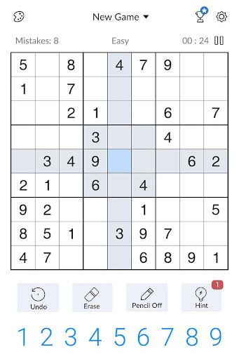 Sudoku - Free Classic Sudoku Puzzles 3.9.0 screenshots 15