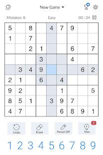 Sudoku - Free Classic Sudoku Puzzles screenshots 10
