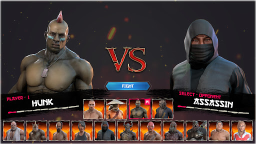 Kung Fu Madness Street Battle Attack Fighting Game apkpoly screenshots 2