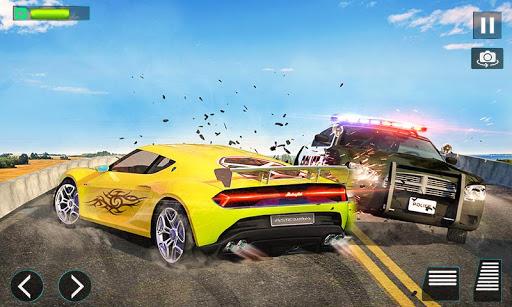 police chase car driving simulator : cops car game screenshot 3