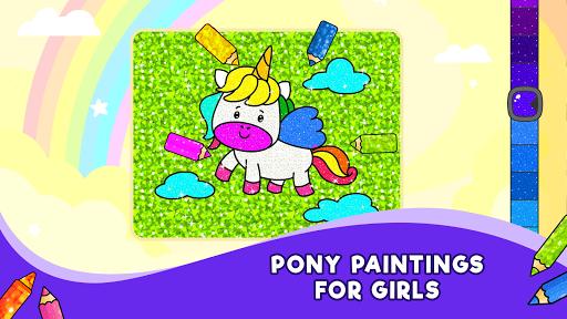 Unicorn Glitter Coloring Book: Coloring Unicornud83eudd84 4.0.3 screenshots 15