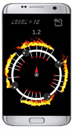 Throw Pin : Free Fire Game  screenshots 1