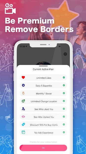 LiveStory - Free Dating App, Hookup Live Stream screenshot 12
