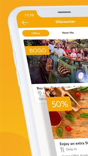 The Discounter App - FREE Offers & Discounts 1.0.11 screenshots 1