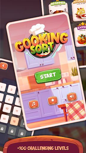 Cooking Sort - Free Ball Sort Puzzle Game  screenshots 4