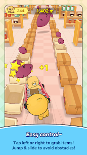 Friends Mart Rush Mod Apk 1.1.0 (All Skins and Carts Are Open) 4
