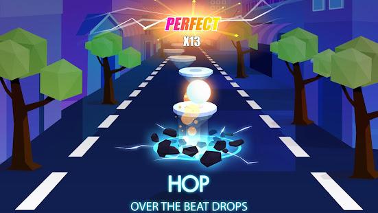 Hop Ball 3D: Dancing Ball on Music Tiles Road
