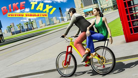 BMX Bicycle Taxi Driving City Passenger Simulator 1.2 Screenshots 10