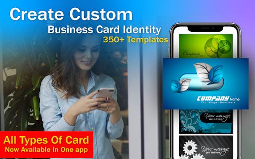 Business Card & Invitation Maker android2mod screenshots 2