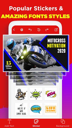 Thumbnail Maker - Create Banners & Channel Art 11.4.2 Screenshots 3
