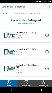 Lycamobile – Prepaid Beltegoed Opwaarderen 3.1.1 Android APK Mod 1
