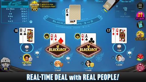 Blackjack 21: House of Blackjack 1.6.2 screenshots 1