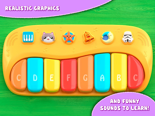 Piano for babies and kids  screenshots 4