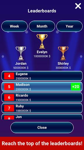 Millionaire 2021 -  Free Trivia Quiz Offline Game  screenshots 13