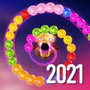 Zooma 2D - jungle marble blast bubbles games 2021