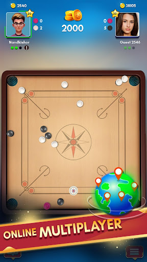 Carrom Kingu2122 - Best Online Carrom Board Pool Game 3.1.0.74 screenshots 3