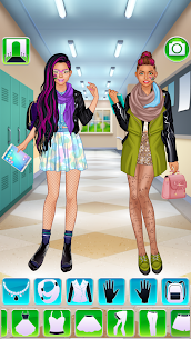 High School BFFs Cool Girls Team APK 3