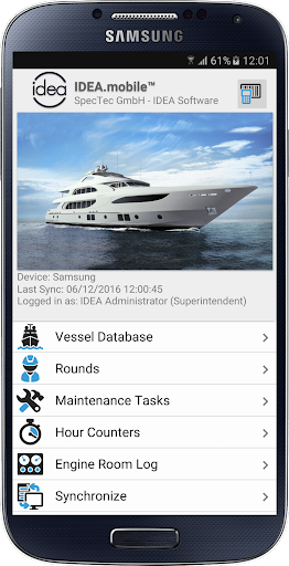 idea.mobile screenshot 1
