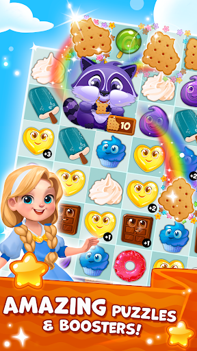Candy Valley - Match 3 Puzzle 1.0.0.53 Screenshots 3