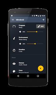 Mindroid Pro v6.2 MOD APK – Relaxation & Productivity Mind Machine 2